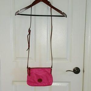 Dooney & Bourke Bags - NWOT Dooney and Bourke Pink Nylon Crossbody